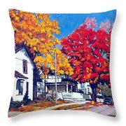 Machelle Street, Throw Pillow