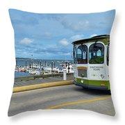 Macmillan Pier Provincetown Cape Cod Massachusetts 03 Throw Pillow