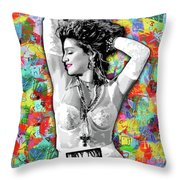 Madonna Boy Toy Throw Pillow