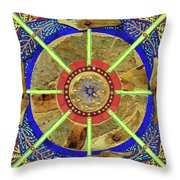 Making Peace Throw Pillow