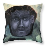 Man With Udders Throw Pillow