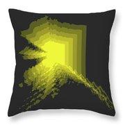 Map Of Alaska Throw Pillow