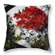Maple Tree 2 201908 Bonsai Penjing Museum National Arboretum Throw Pillow