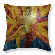 Marble Majesty Throw Pillow