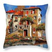 Mareblu-tetti Rossi Throw Pillow