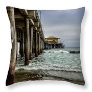 Mariasol On The Pier 2 Throw Pillow