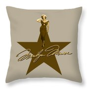 Marilyn Monroe - Signature Throw Pillow
