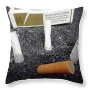 Marlboro Country Throw Pillow
