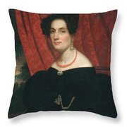 Mary Ann Garrits  Throw Pillow