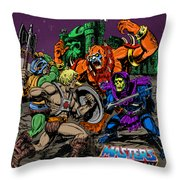 Masters Of The Universe Throw Pillow