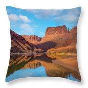 Mat Martin Point And The Colorado Throw Pillow
