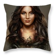 Mater Natura Throw Pillow
