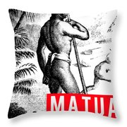 Matua Throw Pillow by MB Dallocchio