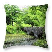 Maudslay State Park Throw Pillow