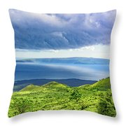 Maui Paradise Throw Pillow by Jim Thompson