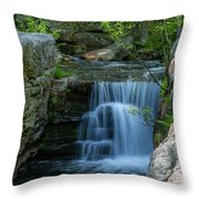 May Morning At Split Rock II Throw Pillow