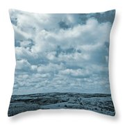 May On The Great Plains Throw Pillow