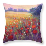 Meadow Dreaming Throw Pillow