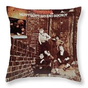 Meaty Beaty Big And Bouncy Throw Pillow