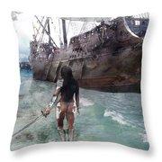 Medieval Legend 017 Throw Pillow