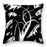 Medieval Tree Throw Pillow