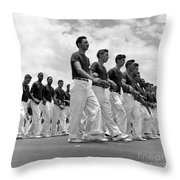 Men Show Thier Stuff Throw Pillow