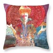 Merlin's Choice Throw Pillow