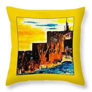 Mesa Grande Country Throw Pillow