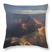 Mesmerized At Mather Point Throw Pillow