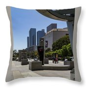 Metro Station Civic Center Los Angeles Throw Pillow