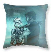 Metropolis Revisited  Throw Pillow
