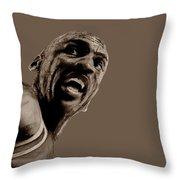 Michael Jordan - Practice Throw Pillow