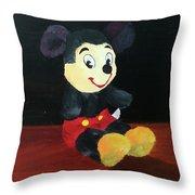Mickey 1965 Throw Pillow
