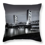 Midnight Hour- Throw Pillow by JD Mims