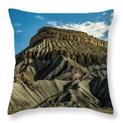 Mighty Mt. Garfield Throw Pillow