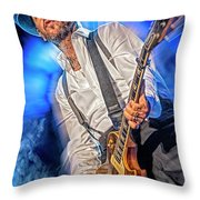Mike Ness Throw Pillow