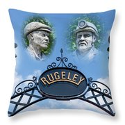 Miners Of Rugeley Throw Pillow
