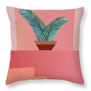 Minimal Tropic Throw Pillow