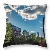 Minneapolis 02 Throw Pillow