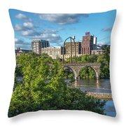 Minneapolis 03 Throw Pillow