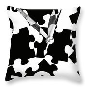 Minuets To Midnight Throw Pillow