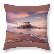 Miramar Beach Chapel Throw Pillow