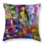 Mirrored Steps Throw Pillow