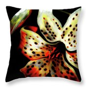 Miss Lily Throw Pillow