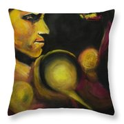 Mister Of The Universe Throw Pillow by Eric Dee