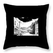 Mogollon New Mexico Ghost Town Throw Pillow