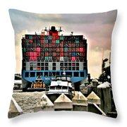 Mol Maestro Collage Throw Pillow