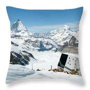 Monte Rosa Throw Pillow