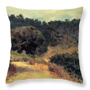 Monterey Forest 1919 Throw Pillow