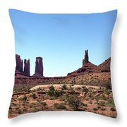 Monument Cluster Throw Pillow